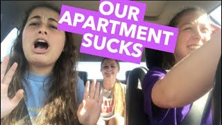WHY WE HATE OUR APARTMENT AT LSU