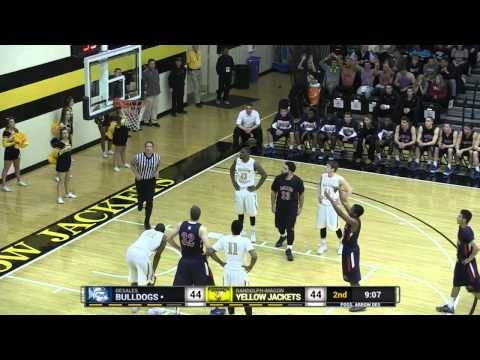 2014 NCAA 1st Round D3 MBB Tournament: Randolph-Macon vs. DeSales