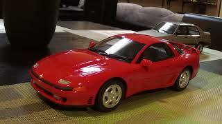 Diecast review 1:18 Otto Mitsubishi 3000GT GTO VW Jetta Mk2