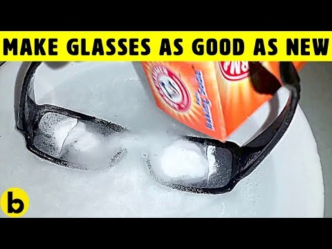 10 Ways To Remove Scratches From Eyeglasses