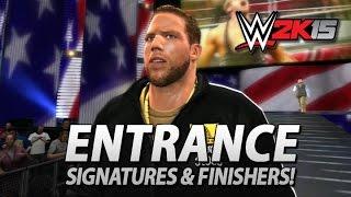 WWE 2K15: Jack Swagger Entrance, Signatures & Finishers!
