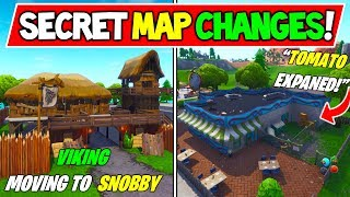 "*NEW* FORTNITE SECRET MAP CHANGES v8.10 ""Tomato Head EXPANDS"" + ""SKULL CAVE!"" + Season 8 Storyline"