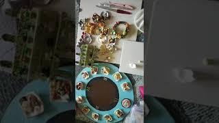 Food Miniatures/ clay pasta platter miniature tutorial