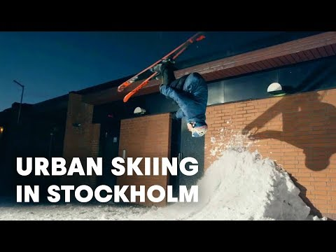 Urban Skiing in Stockholm w/ Jesper Tjader and Oystein Braten - Send It - EP 1