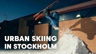 Urban Skiing in Stockholm w/ Jesper Tjader and Oystein Braten - Send It - EP 1