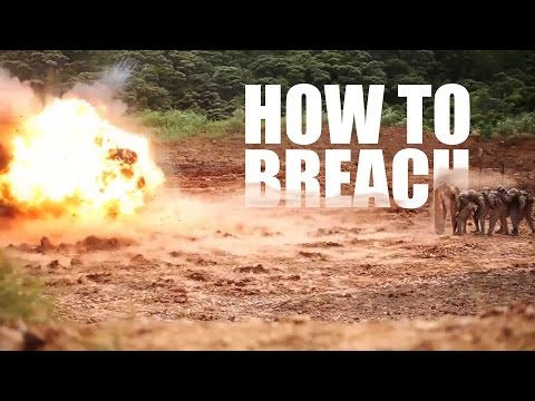 How to Breach Like a Marine