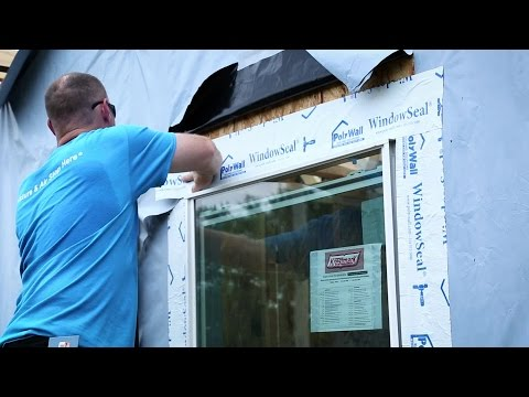 Poly Wall® - Building Solutions (PBS) - WindowSeal® Application