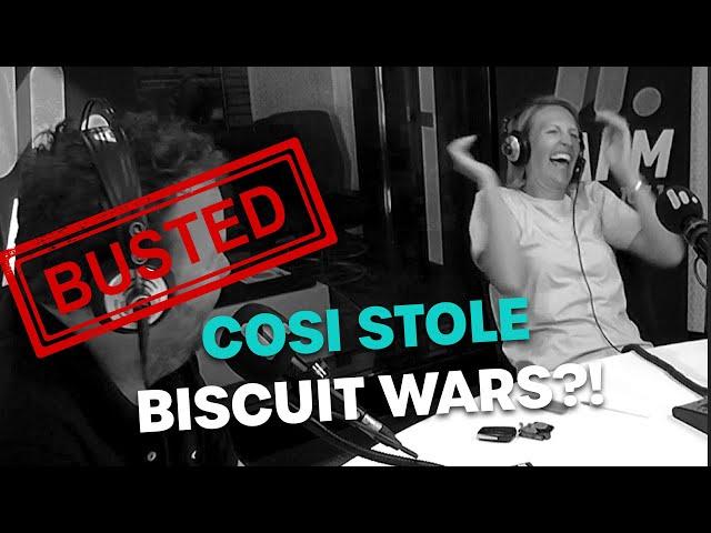 Cosi STOLE Biscuit Wars?! | Bec Cosi & Lehmo