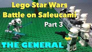 Lego Star Wars Battle on Saleucami | Part 3 | The General | Stop-Motion Movie