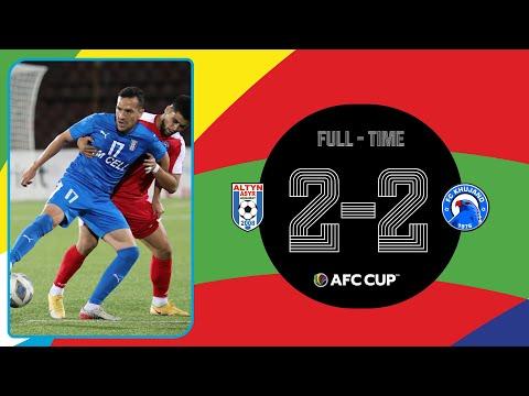 #AFCCUP2021 - Group F | Altyn Asyr FC (TKM)  2 - 2 FC Khujand (TJK)