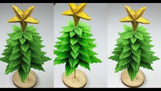 Paper Christmas Tree | Christmas Tree Making Ideas | Christmas Tree Making