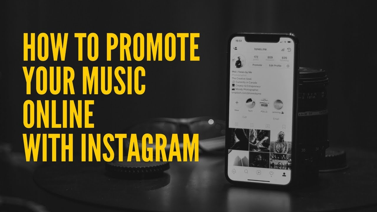 Best way to promote your music on instagram