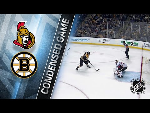 04/07/18 Condensed Game: Senators @ Bruins