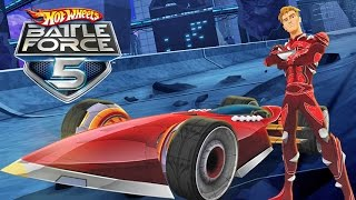 #5  Hot Wheels Battle Force 5 - Video Game - Gameplay - Videospiel - Game - Movie For Kids