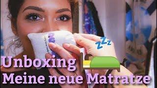 Unboxing: Meine neue Quqon Matratze!