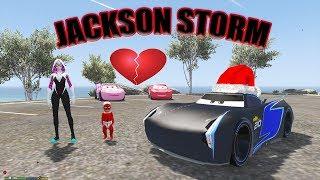 Yağmur Jackson Storm'a Aşık Oluyor Şimşek McQueen Üzülüyor Çizgi Film Tadında