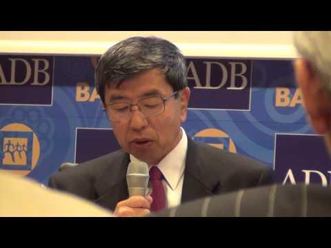 48th ADB-AGM: Civil Society Meeting with President Takehiko Nakao