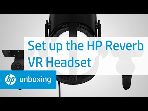 How to Set Up the HP Reverb VR Headset | HP How To For You | HP