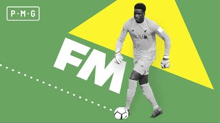 How Football Manager helped a goalkeeper score for his country