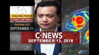 UNTV: C-News (September 13, 2018)