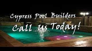 Cypress Pool Builders  (281) 201-6564