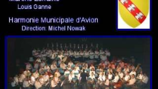 Marche Lorraine de Louis Ganne Harmonie Municipale d
