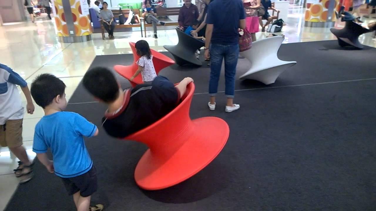 The Spun Chair Spin At 1 Utama - YouTube