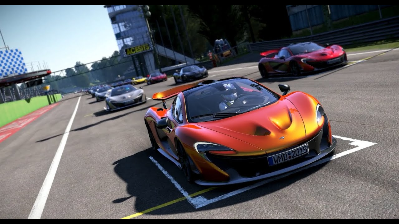 Project Cars Mclaren P1 Supercar Monza 54 Opponents Youtube