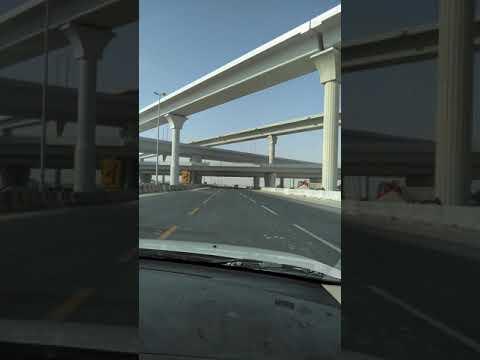 The kuwait creative Bridge design. salmi Road.
