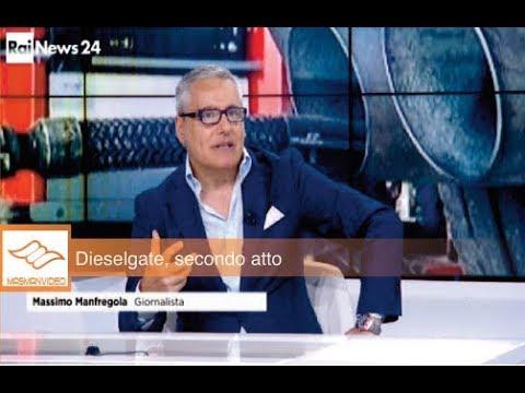 DIESELGATE A RAI NEWS24 CON MASSIMO MANFREGOLA
