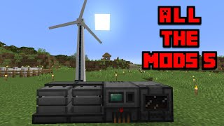 All The Mods 5 : 02 : Mekanism Power and Machines