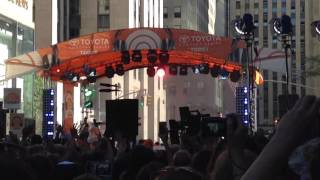 """Andy Grammer Live Today Show 7/24/15 """"Honey, I'm Good"""""""