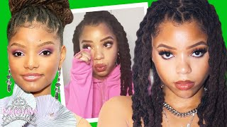 Chloe Bailey cries after being shamed for showing her body | THE RISE OF CHLOE x HALLE