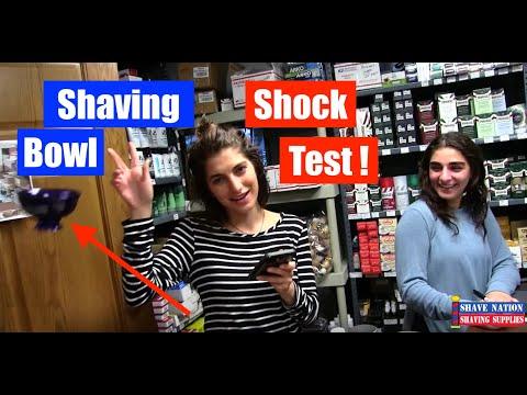 Man Vs Shaving Bowl !