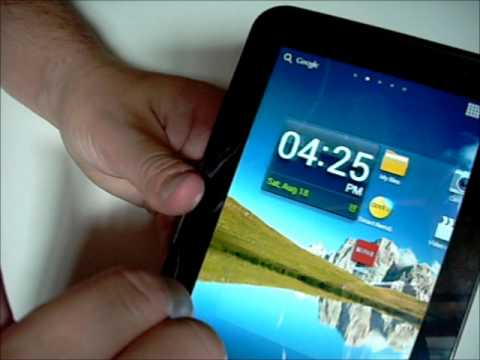 """Samsung Galaxy Tab 2 7"""" review with Android 4.04 Ice Cream Sandwich"""