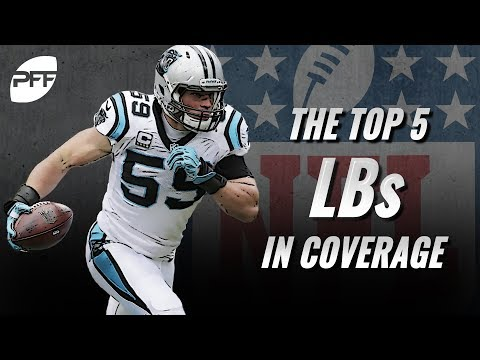The top 5 NFL linebackers in coverage | PFF
