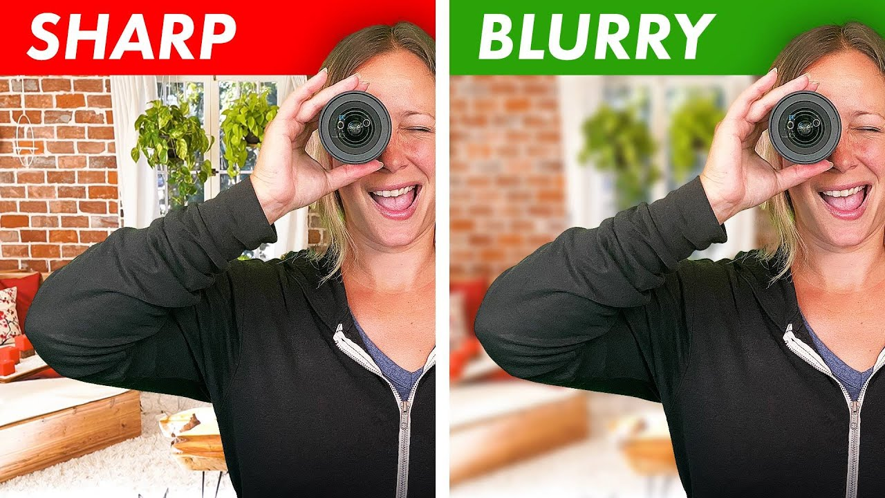 How to Get a Blurry Background for Live Stream Video
