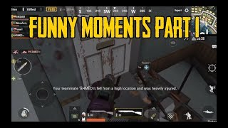 PUBG mobile funny moments and Kills Episode 1