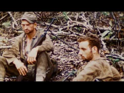 Various WWII Combat Footage Scenes IN COLOR