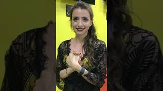 Martina, dopo un esibizione spiega il segreto della scuola BallareBallare