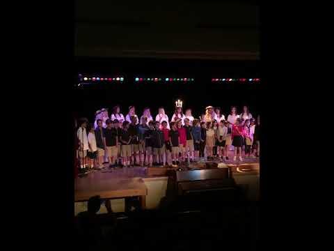 Brentwood School Lower School Swedish Choir Performance