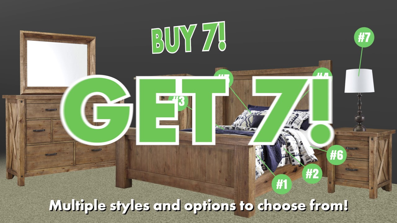 Good Wichita Furniture   Buy 7, Get 7 FREE!   Bedroom Group