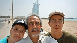 TOUR of DUBAI :  Burj Al Arab, Madinat Jumeirah, Atlantis, Dubai Marina, Mall of the Emirates.