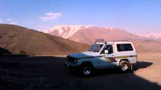 nissan patrol offroad in iran by a.m
