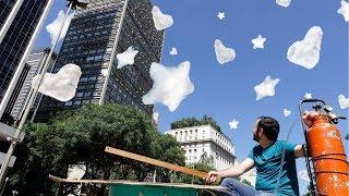 Faça nuvens com o formato que você quiser (EXPERIÊNCIA DE FÍSICA)