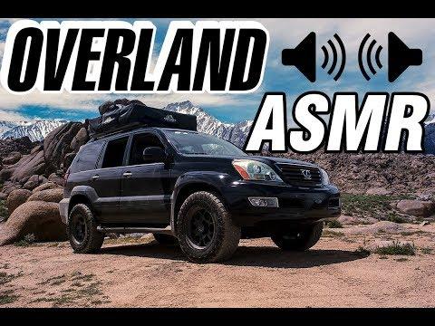 Overland ASMR - Lexus GX470 and Toyota 4 Runner TRD Pro (No Talk)