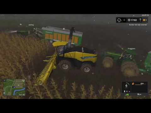 FarmSim17 HUGE CHAFF HAUL!!