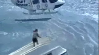 Powerboat Training UK ~ Yacht capsize plus rescue