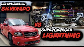 Back At IT Again With The Racing SUPERCHARGED LIGHTNING VS 6.2 WHIPPLE SILVERADO