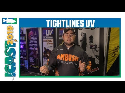Tightlines UV Ambush Tungsten Jigs With Trenton Southards | ICast 2019